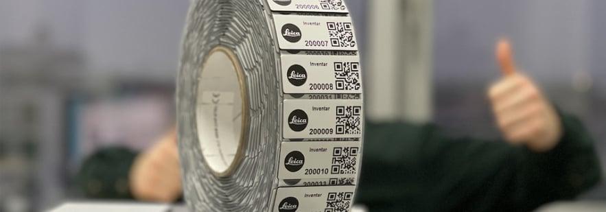 Leica Etiketten RFID Inventarisierungssoftware